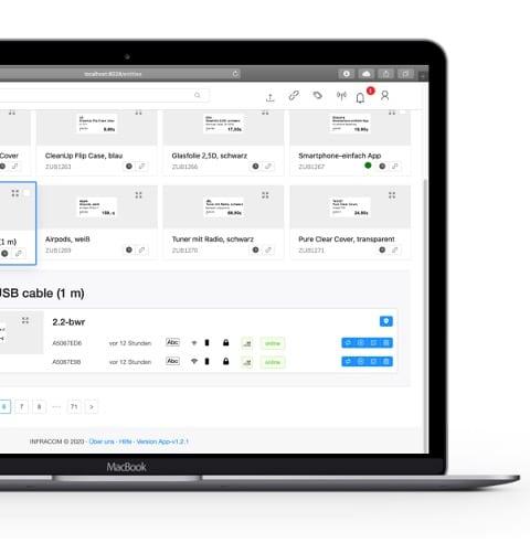 Digitale Lösungen - Einfache Steuerung am MacBook