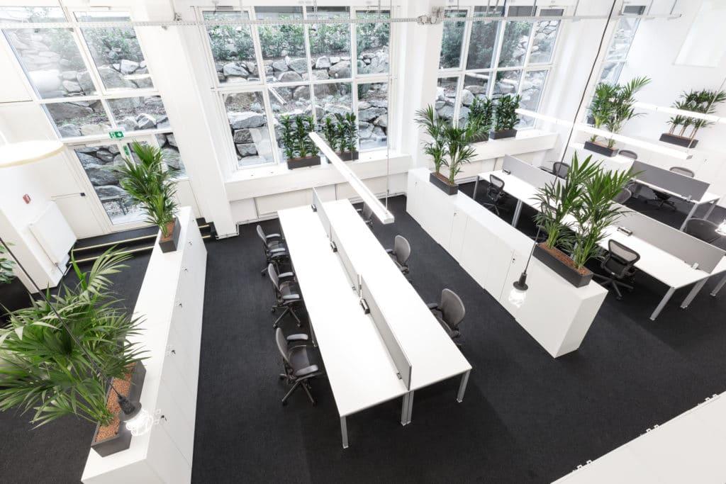 Bauplan Büro - Innenarchitektur und Design